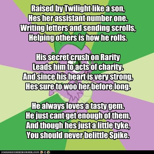 My Little Poetry: Spike