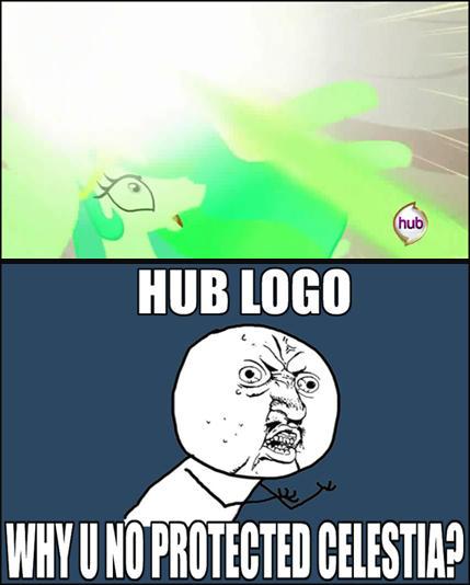 Dammit, Hub logo!