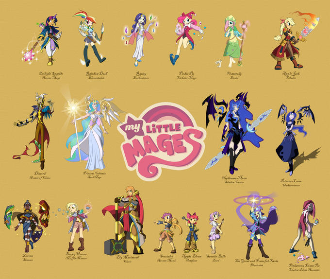 My Little Mages Complete.