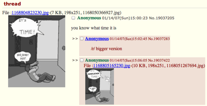 Original 4chan Thread