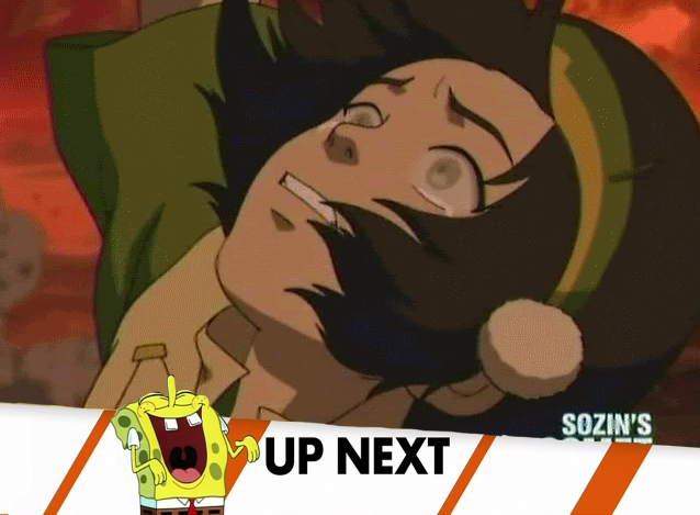 395 toph falling inappropriate timing spongebob banner know your meme