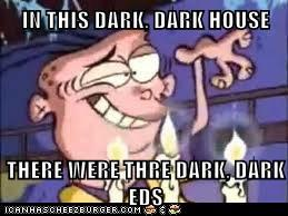 The dark ed