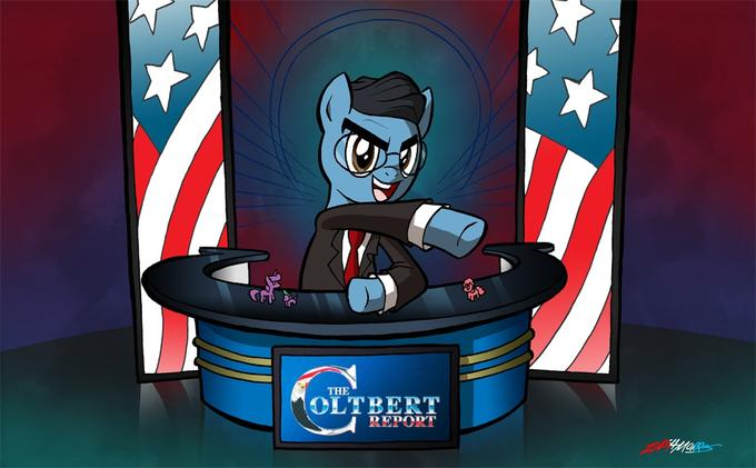 Stephen Colbert ponified