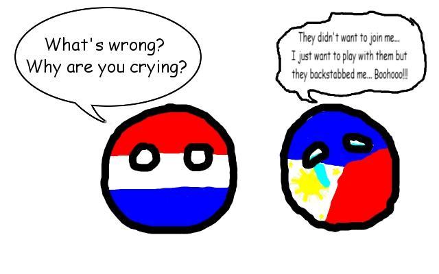 Another Polandball Crying