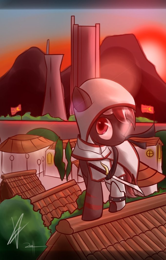 An assassin ponified