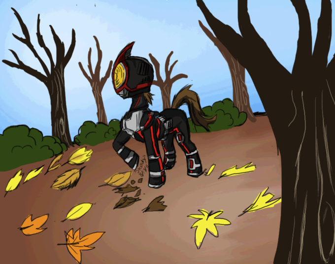 Pony Faiz in fall
