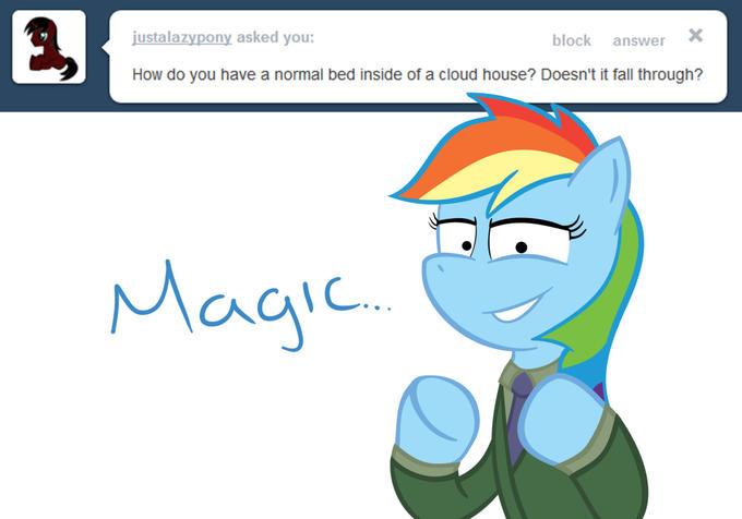Rainbow Dash's Bed