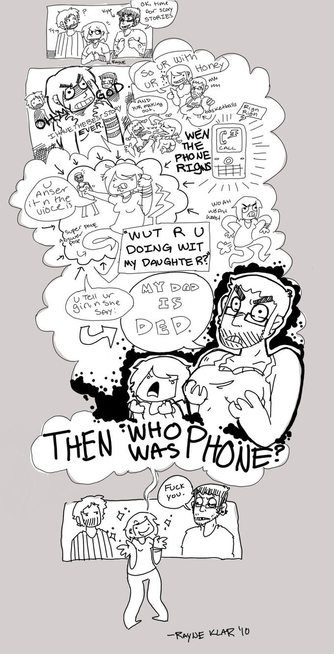 Then Who Was Phone, by ~britishmyvoice