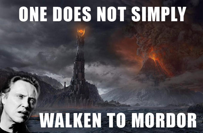 Walken to Modor
