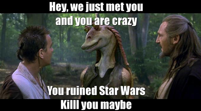 Jar Jar Maybe