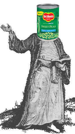 May Peas be Upon Him
