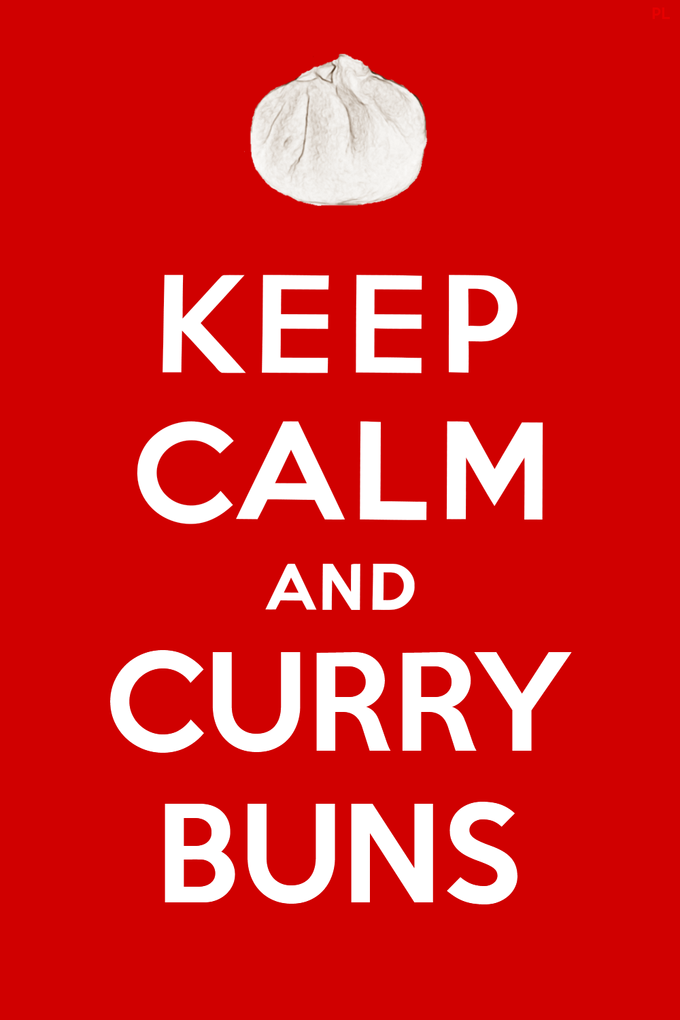 Keep Calm and Curry Buns