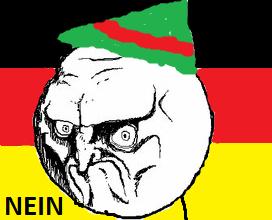 German No Face.