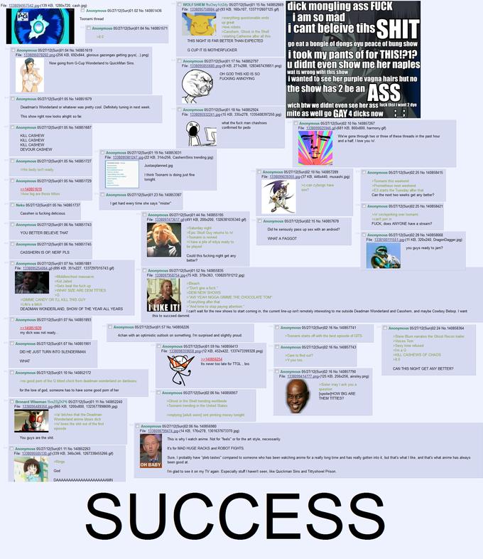 4Chan & Toonami SUCCESS