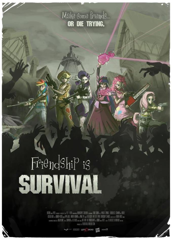 Friendship is Survival