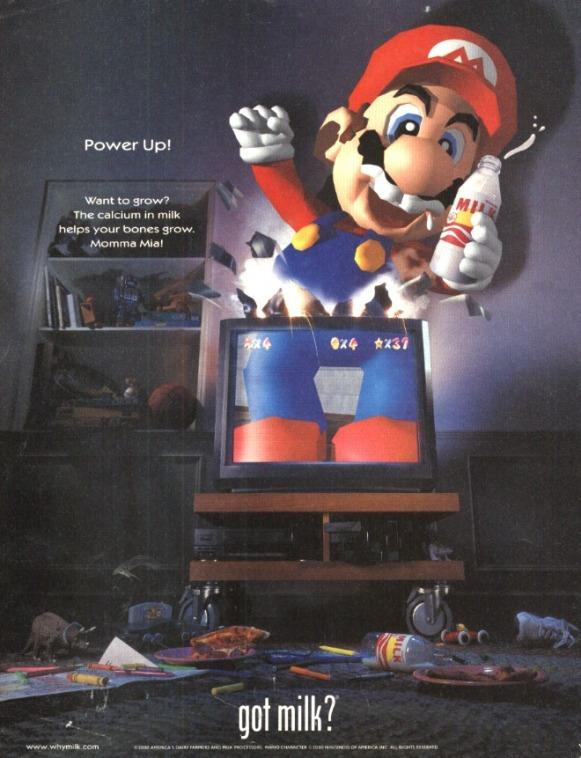 IF YOU HAS MILK MARIO JUMP OUT YOUR TV!!!!!!!!!!!!!!!!!!!!!!!!!!!!!!!!!!!!!