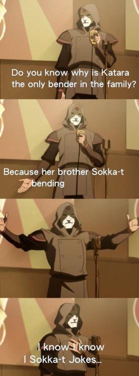Sokka-t Jokes