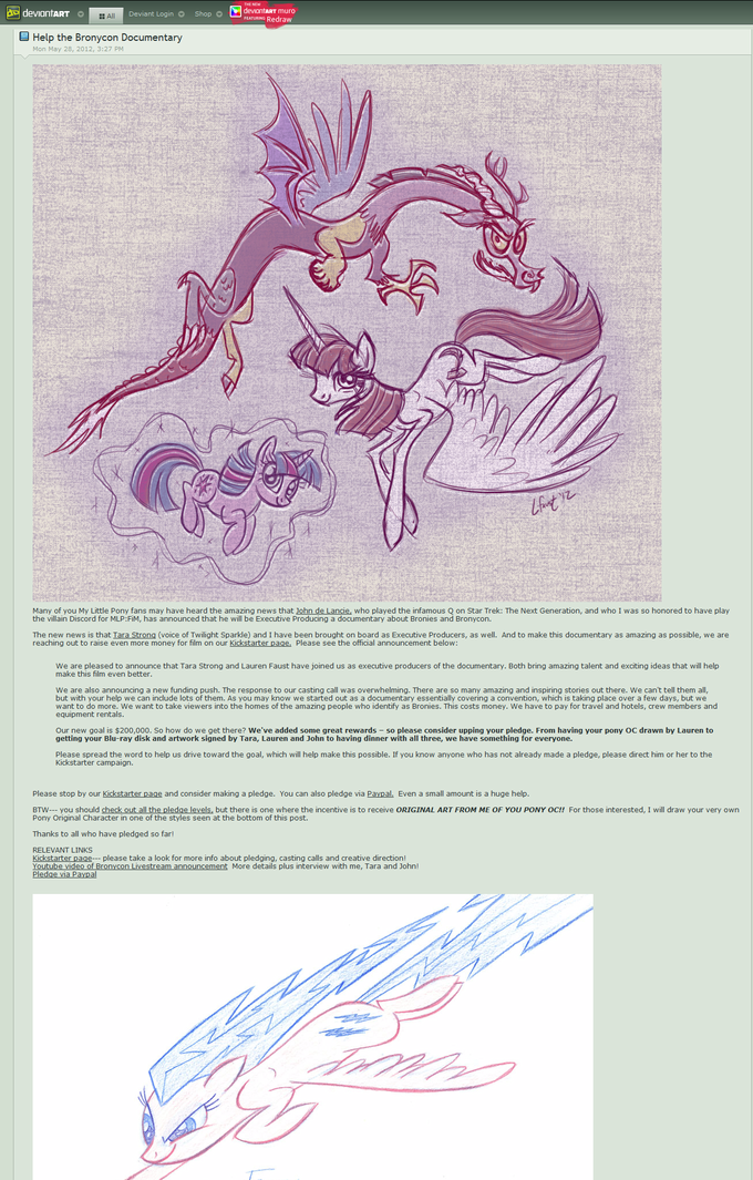 Lauren Faust is executive producer for brony documentary
