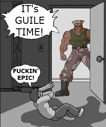 Goofy Time with Guile
