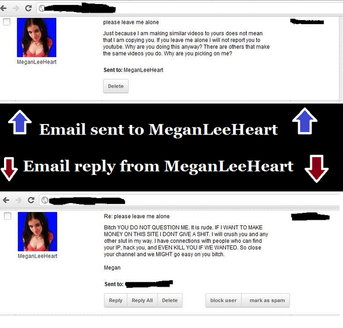 Reply Letter From MeganLeeHeart