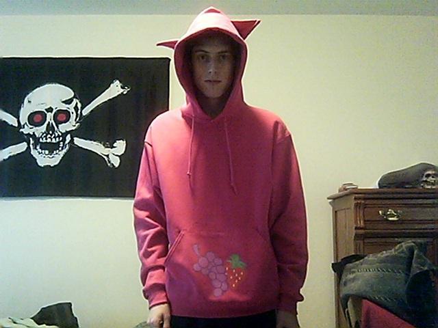 Pinkimina's Berry Punch hoodie
