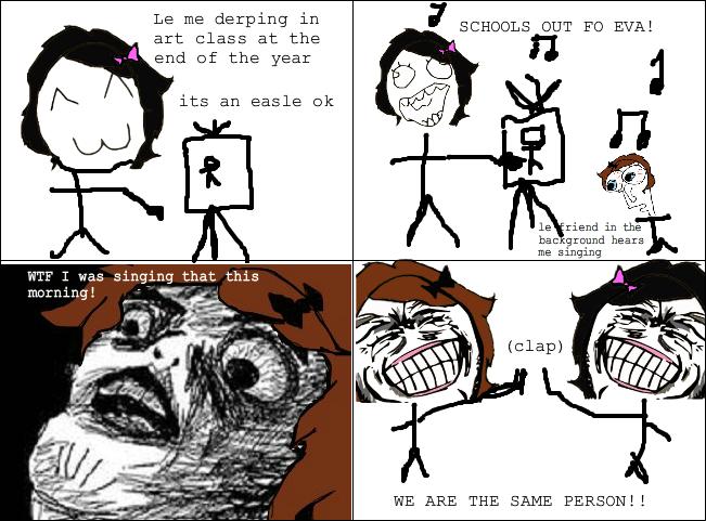 Funny Meme Rage Comics Tumblr : Schools out rage comics know your meme
