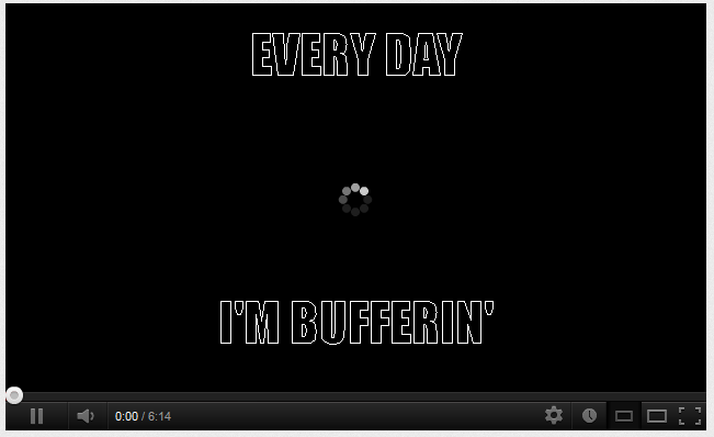 EVERYDAY I'M BUFFERIN'
