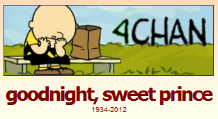 goodnight sweet prince, on behalf of everyone on 4chan