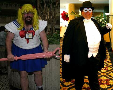 Sailor Moon &amp; Tuxedo Mask