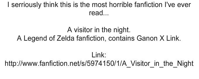 Worst FanFic Ever