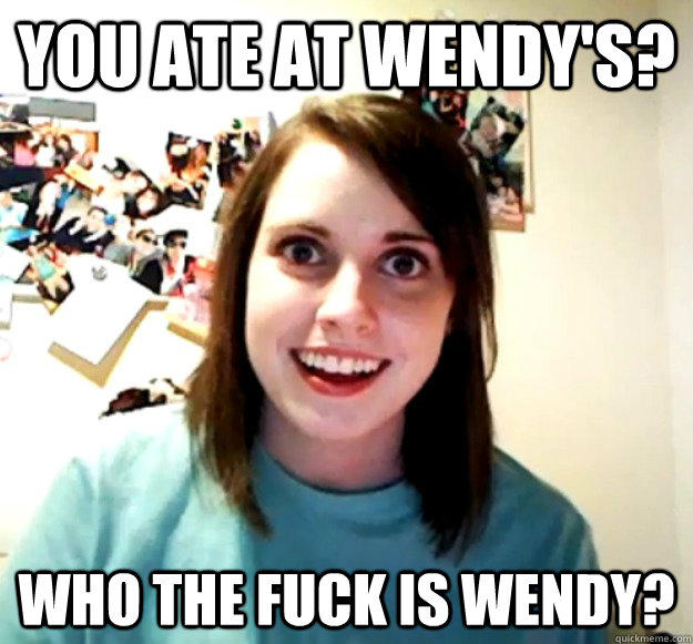98b overly attached girlfriend know your meme,Attached Girlfriend Meme