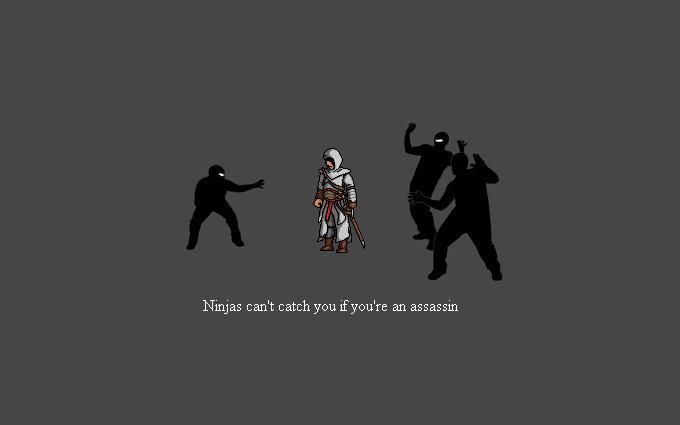 Altair vs Ninjas