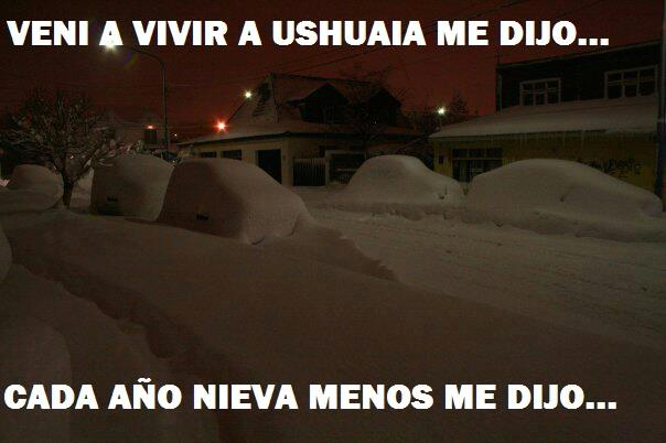 La puta nieve
