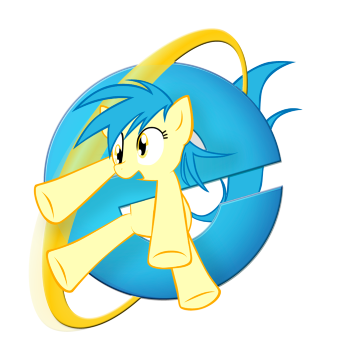 Internet Explorer ponified