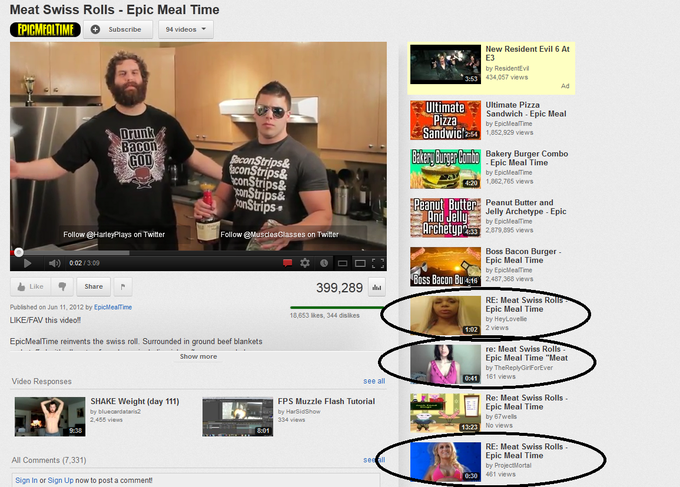 Reply Girls Whoring Epic Meal Time's Suggestion Features