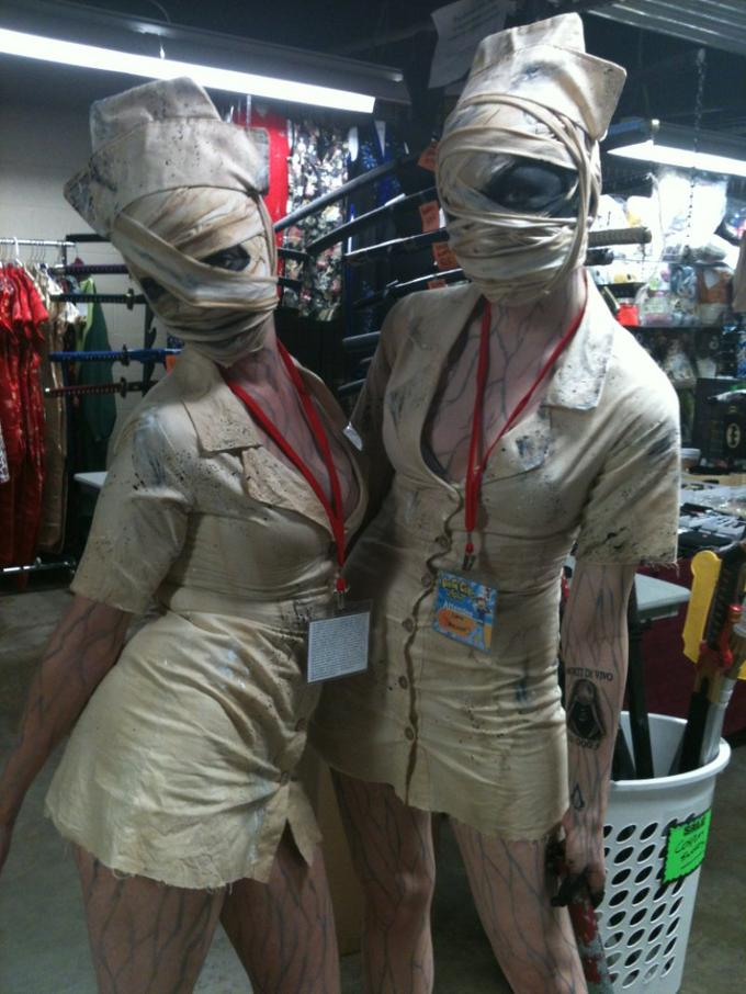 Silent Hill Nurse Cosplay