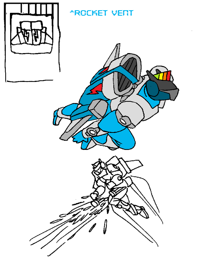 Kamen Rider Dash - Rocket Vent