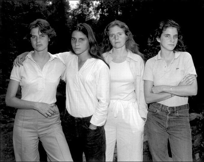 The Brown Sisters, 1975