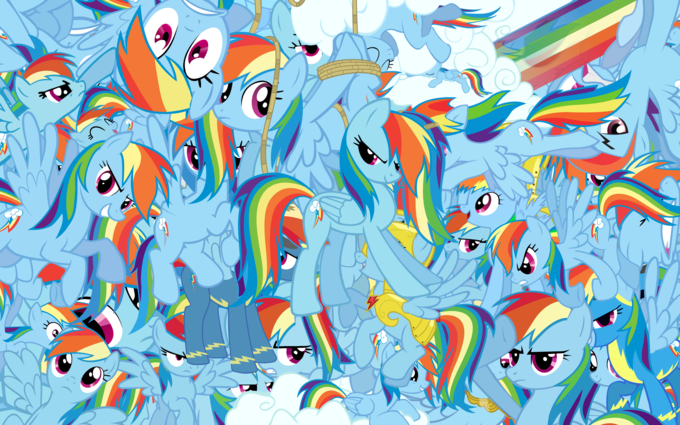 So much Rainbow Dash