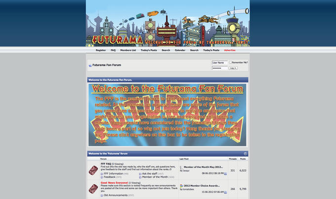Futurama Fan Forum
