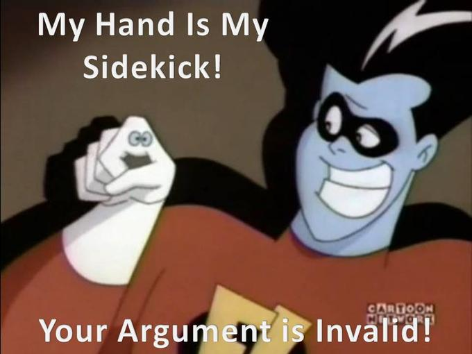 Invaild Argument