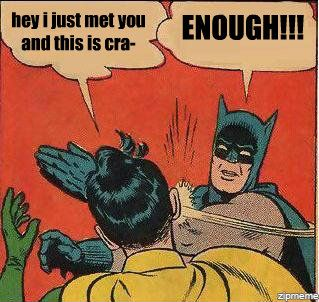 Batman has had enough