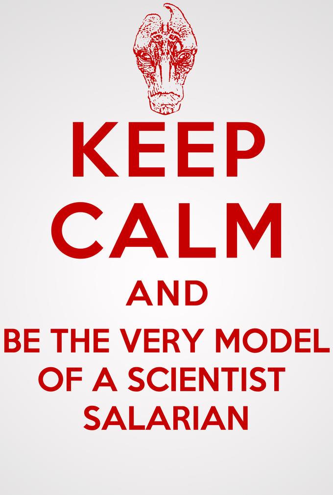 Keep Calm, Mordin