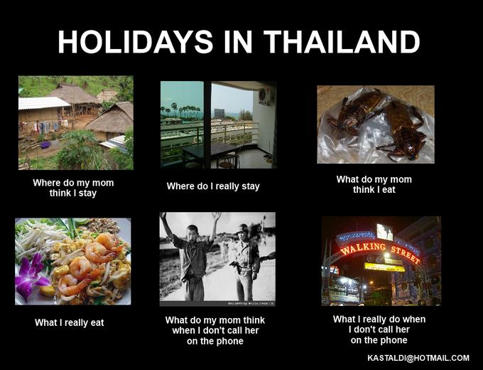 Holidays in Thailand