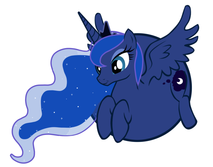 Luna is a balloon pony
