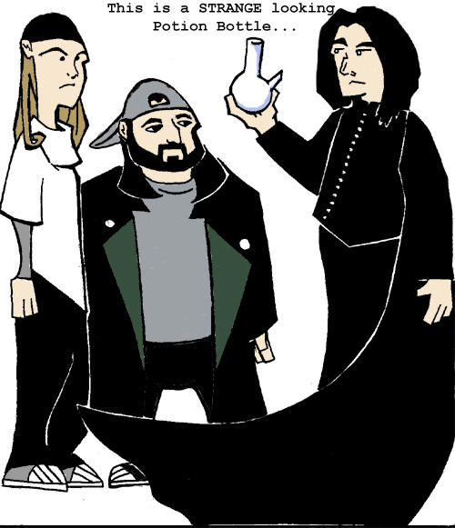 Jay, Silent Bob and Snape