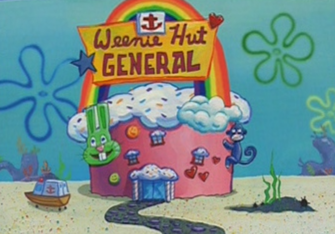 d0f weenie hut general spongebob squarepants know your meme