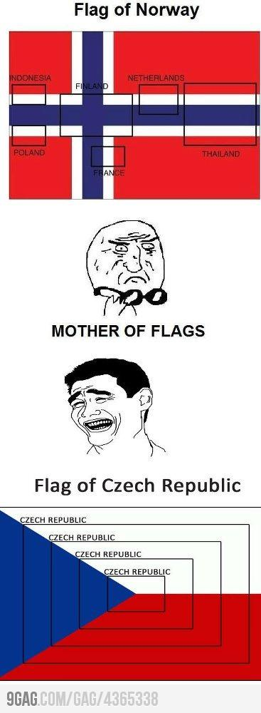 Mother Of Flags Vs. Inception Flag