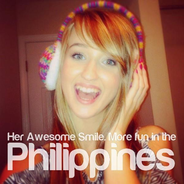 Her Awesome Smile. More Fun In the Philippines