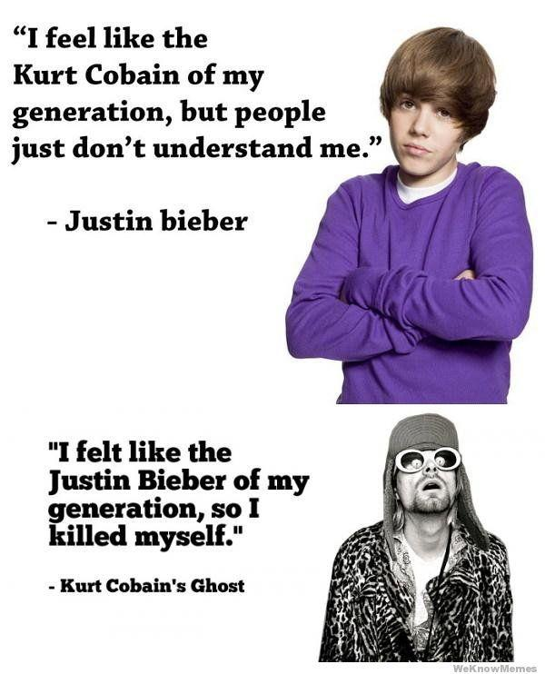 When you are like Justin Bieber, this happens